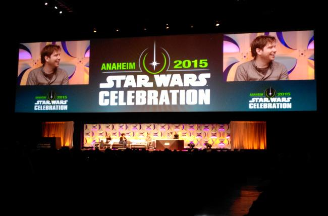 Raimundo Hollywood Star Wars Celebration 2015 escenario