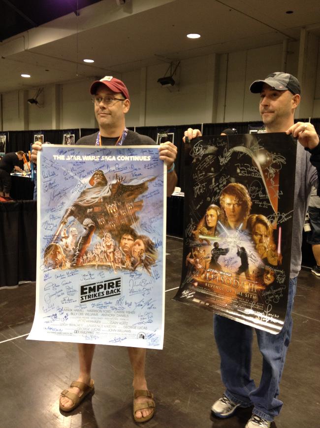 Raimundo Hollywood Star Wars Celebration 2015 posters