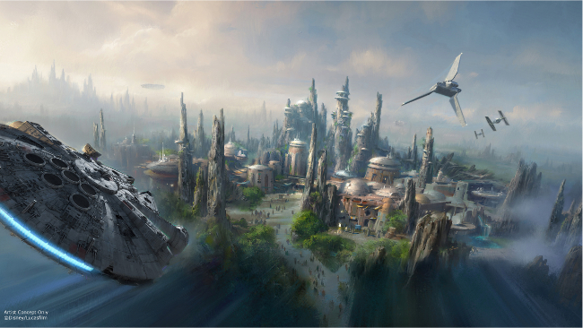Raimundo Hollywood Star-Wars-Land-Park-Concept-Art