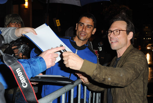 Raimundo Hollywood Toronto 2015 Christian Slater