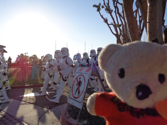 Raimundo Hollywood guerreros espaciales ComicCon 2015