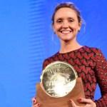 """Teresa Fernández-Valdés recibe la Medalla de Honor de MIPTV 2018: """"Estoy feliz de que el premio se vaya para casa"""""""