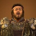 Versión Digital hace posible la proyección en cines de la ópera 'Aida', con Luciano Pavarotti