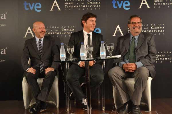 Emilio A. Pina, Manel Fuentes y Enrique González Macho