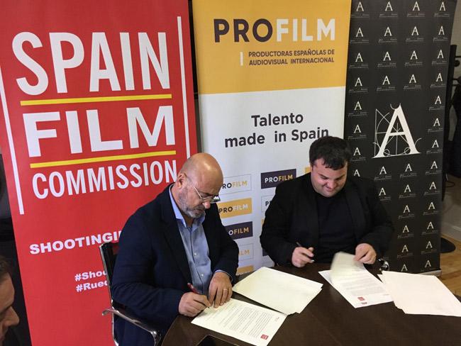 Foto Carlos Rosado, Spain Film Commission, y Adrián Guerra, PROFILM.