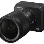 Sony lanza una cámara ultracompacta de alta sensibilidad y grabación 4K