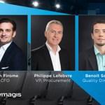 Ymagis nombra un nuevo director financiero y refuerza su equipo directivo
