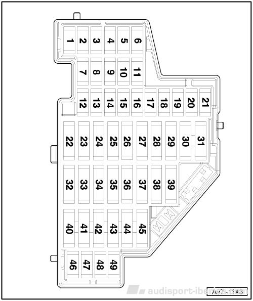 Manual De Fusibles Audi A3