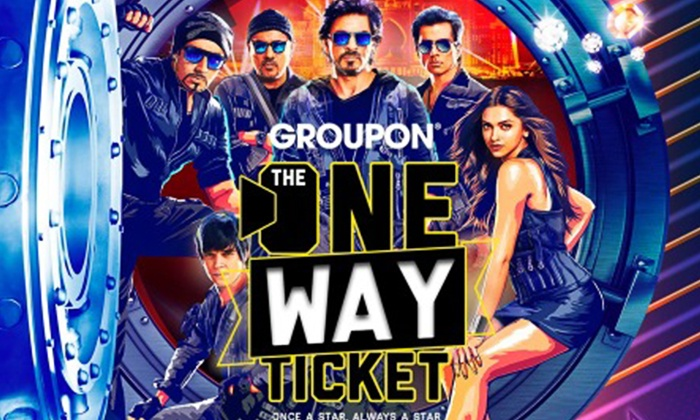 Groupon The One Way Ticket For SRK Movie Audition Online Details