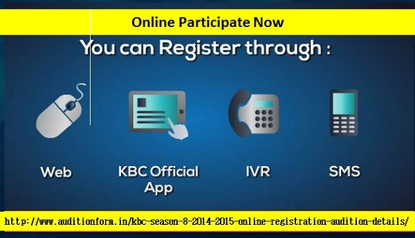 Kaun Banega Crorepati Auditions and Online Registration Details