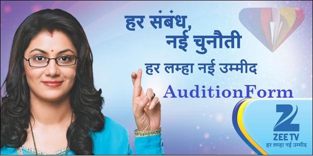 Zee TV Auditions Hum Hai Ummeed Online Registration Form