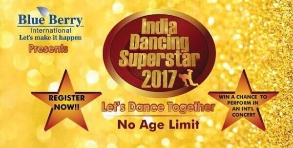 India Dancing Superstar 2017 Audition & Registration Details