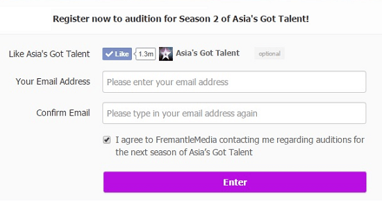 How to Pre-Registration of AGT 2 2016