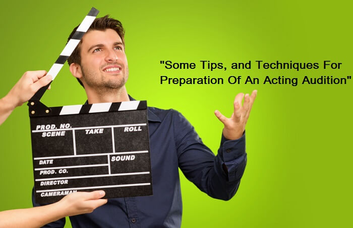 Acting Audition Simple Tips