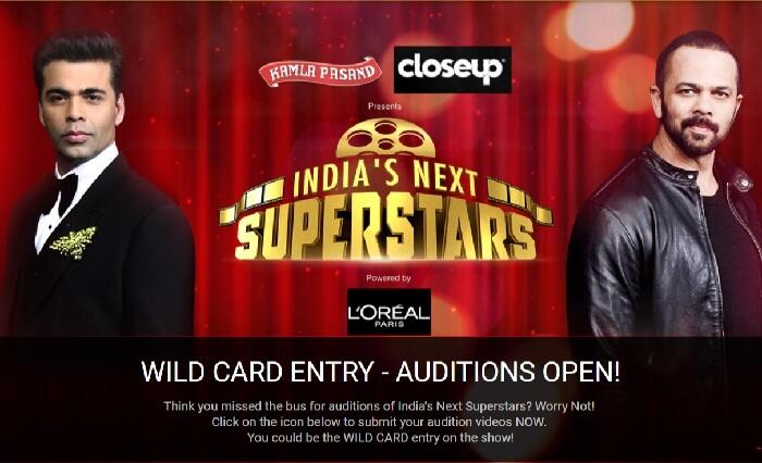 Indias Next SuperStar Auditions