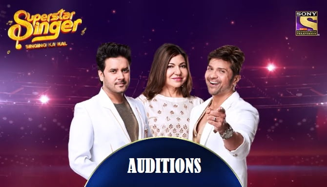 Sony SuperStar Singer Auditions 2019 and Registration / Entery Form