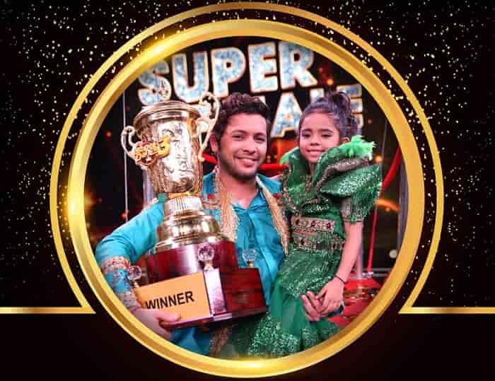 Rupsa Batabyal: Super Dancer Season 3 Winner Name