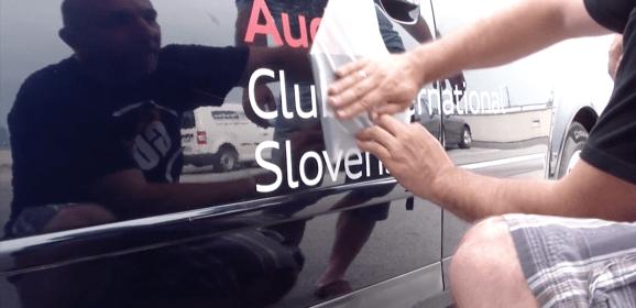 Alpine Run Audi Club International Slovenia