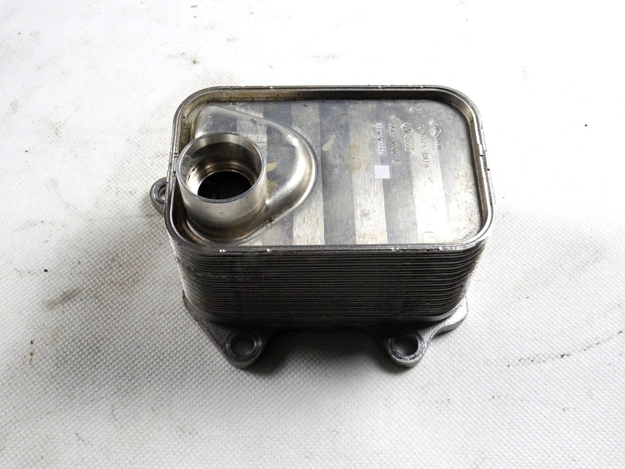 hight resolution of  oil cooler vw audi 06l117021e