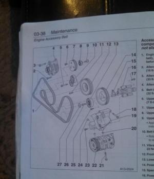 serpentine belt routing for 00 a6 42l?  AudiWorld Forums