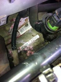 Coolant leak cracked hose behind engine - AudiWorld Forums