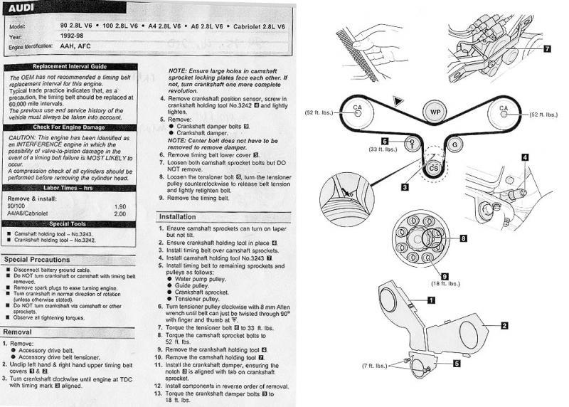 D17a Engine Diagram Engine Won T Start After Serpentine Belt Broke Page 3