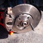 A4 B5 Front Brake Pads Rotors Replacement Diy With Pics Audiworld Forums