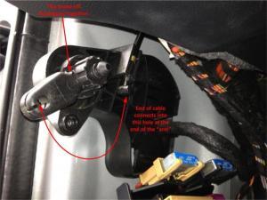 Hood latch cable broke  AudiWorld Forums