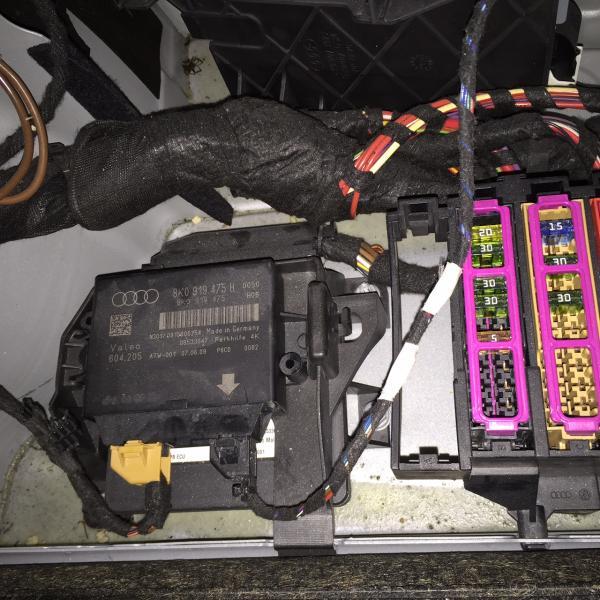rear work light wiring diagram parts of the throat parking sensor not working - audiworld forums