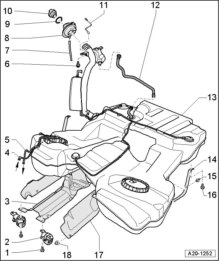 Audi A6 Gas Tank Diagram : 24 Wiring Diagram Images