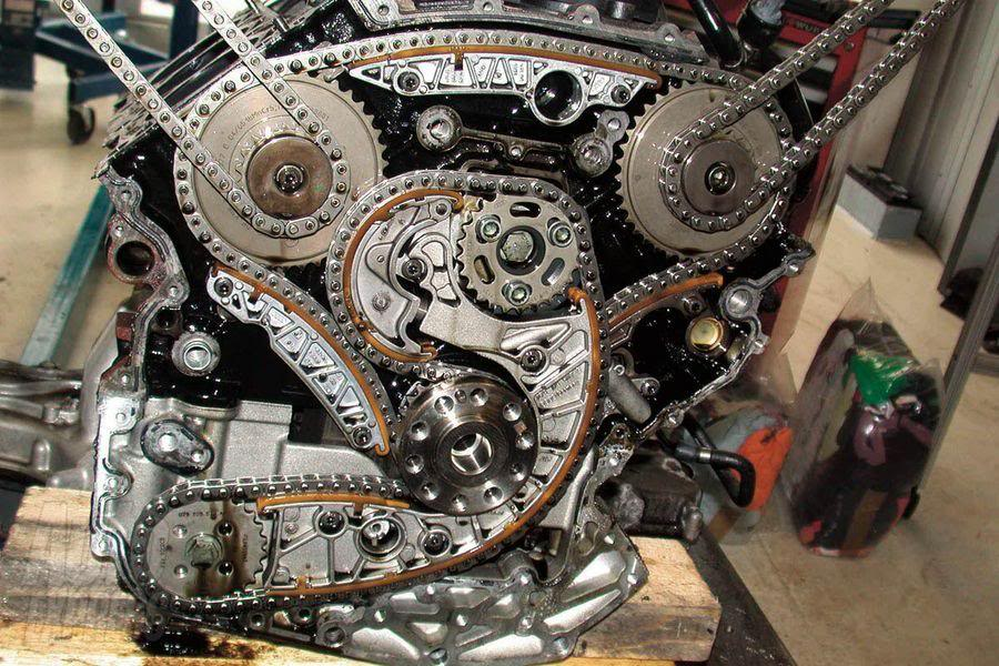 The Timing Diagram Of The Chain Sprockets Inside 2007 Audi Fixya