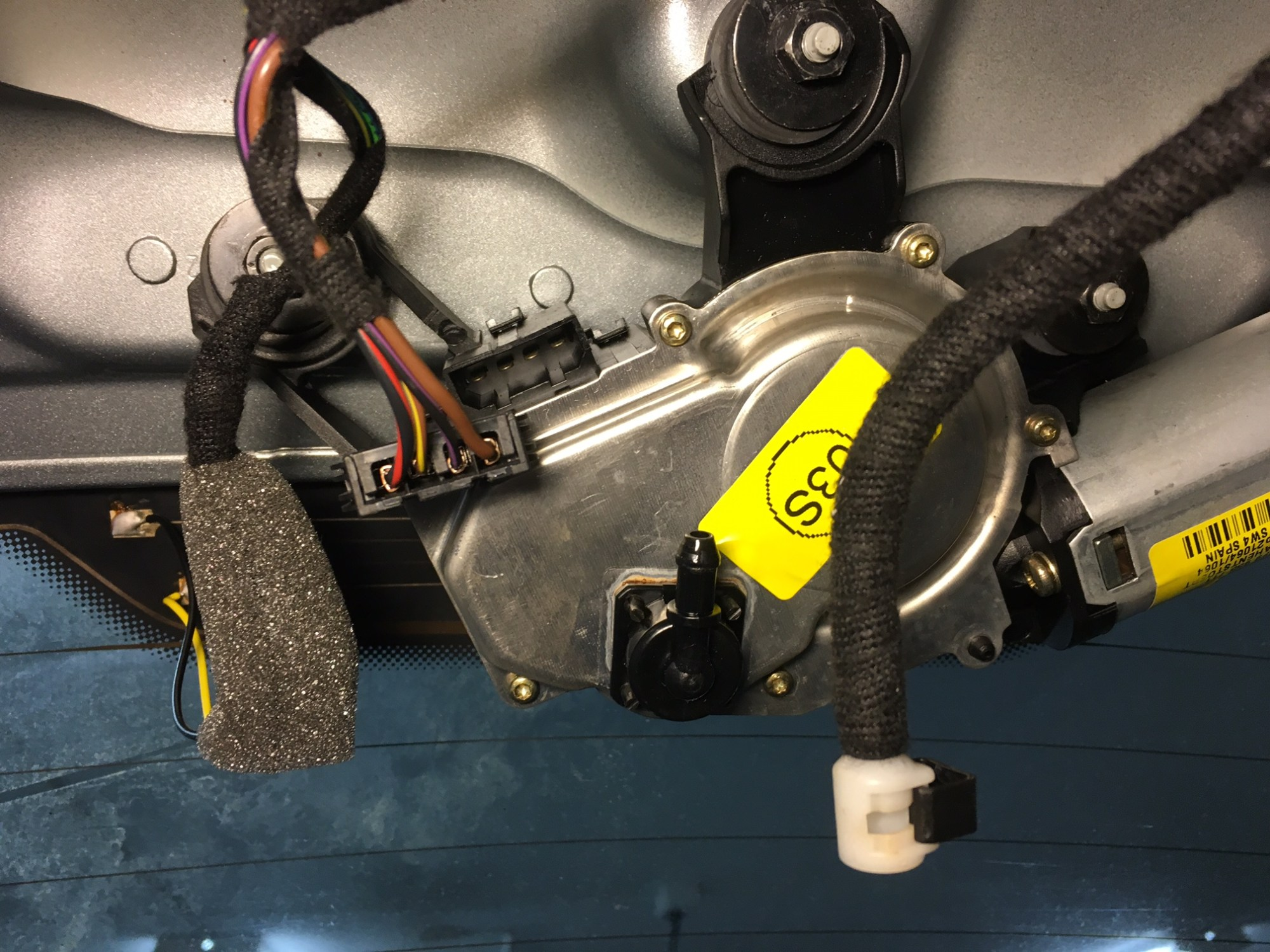 hight resolution of rear wiper arm removal and wiper motor replacement img 2412 jpg