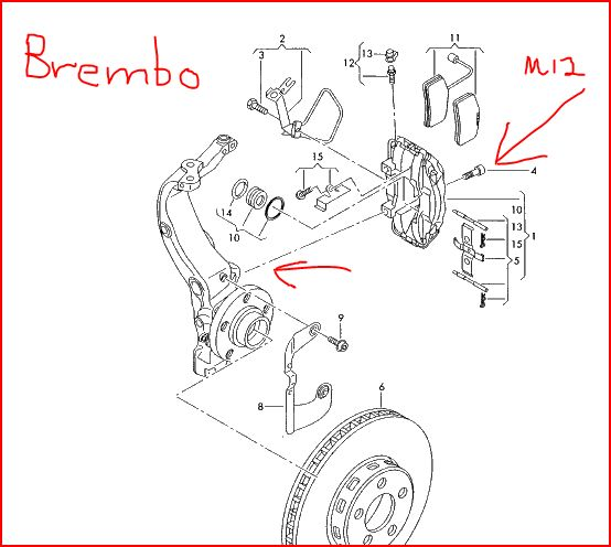 quattroworld.com Forums: Part number request for Brembo