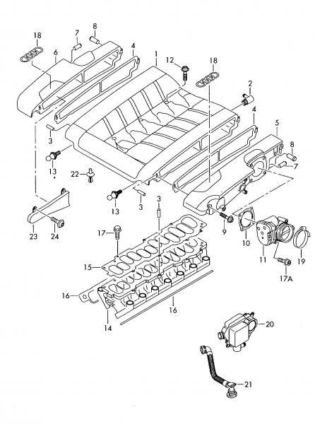W12 spark plug change & intake manifold removal