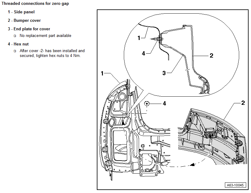 Service manual [How To Remove Rear Fender 2000 Audi A6