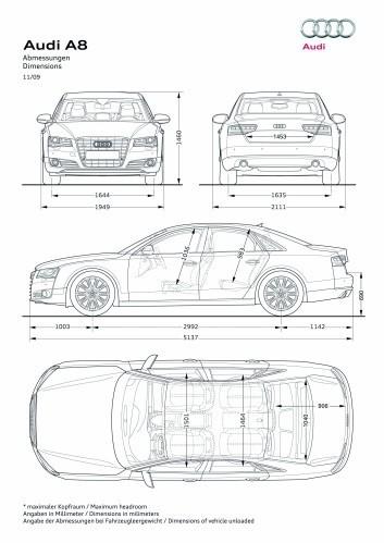 2006 Audi A Engine Diagram Comparative Dimensions D4 Vs D3 Audiworld Forums