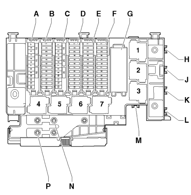 2011 Audi Q5 Fuse Box Location