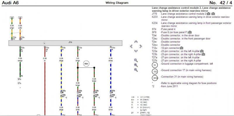 audi a6 wiring diagrams