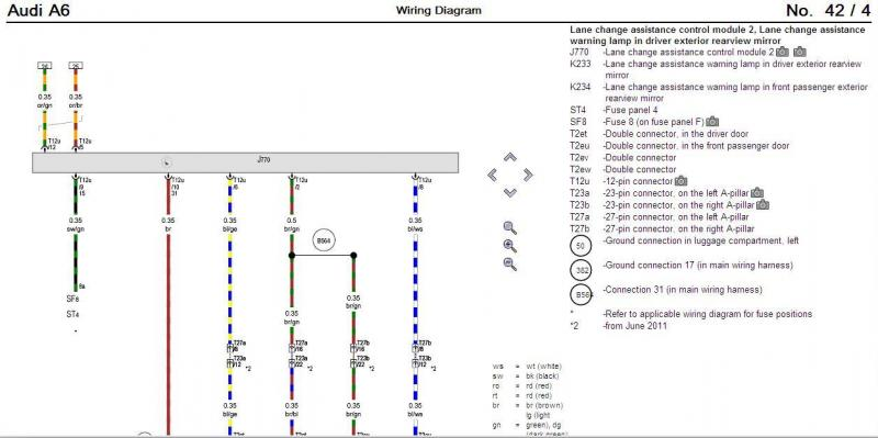 audi a4 airbag wiring diagram visio application schematic diagrams data radio fuse anyone understand how
