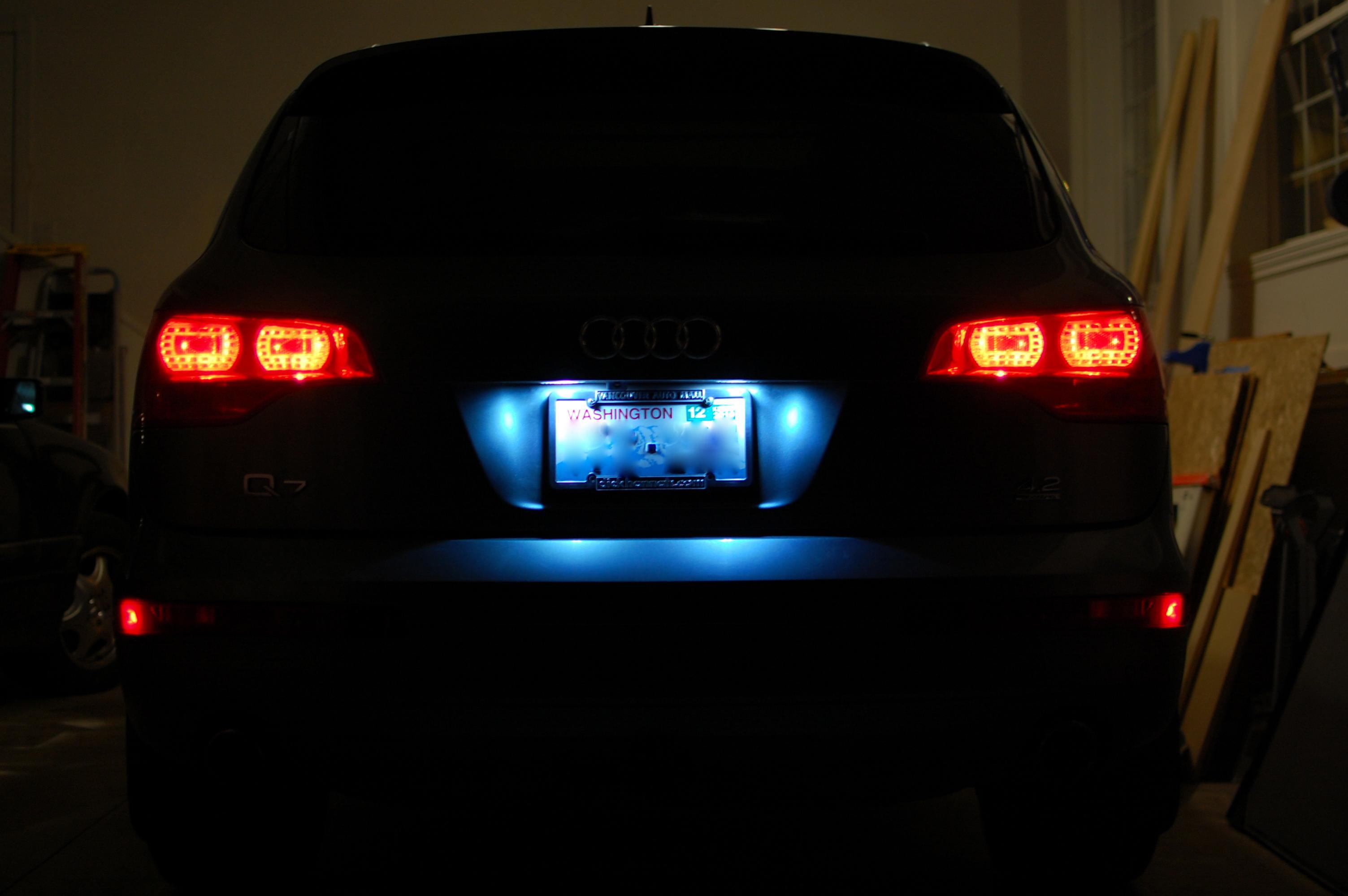 LED license plate lights  AudiWorld Forums