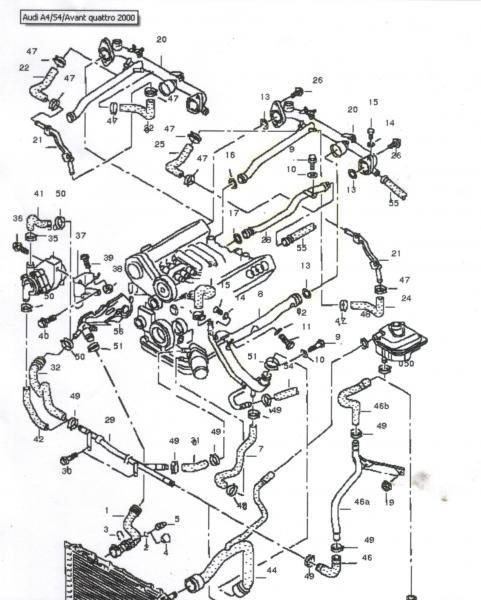 Audi B6 Engine Diagram