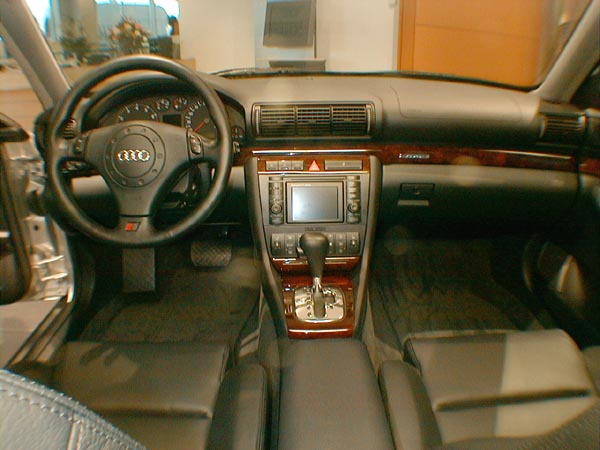 Audi A4 with Navigation System Plus