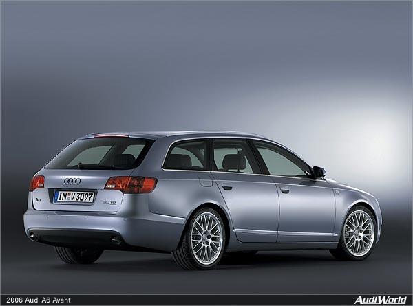 The AllNew Audi A Avant Now On Sale AudiWorld - 2006 audi a6
