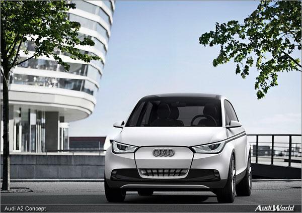 Audi A2 Concept Photos Audiworld