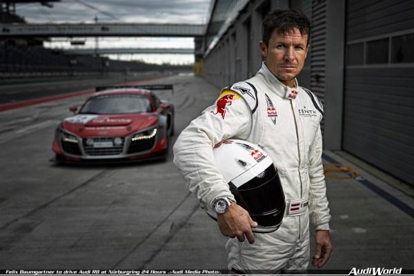 Audi R8 LMS ultra (Audi race experience), Felix Baumgartner (A)