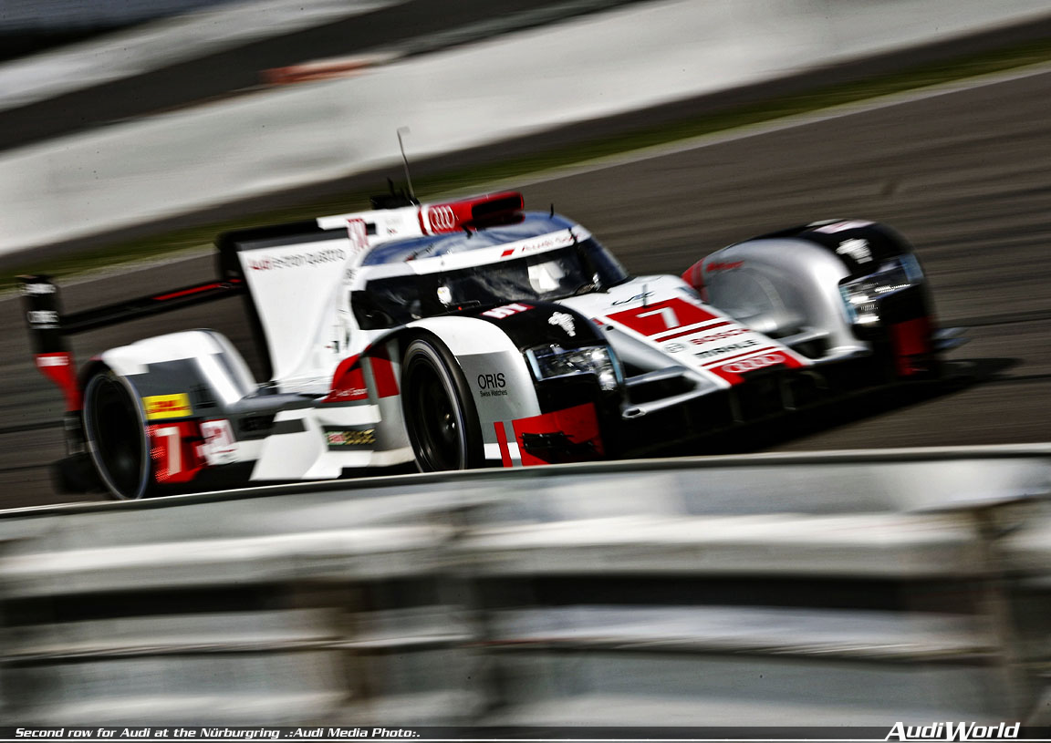 Second Row For Audi At The N 252 Rburgring Audiworld