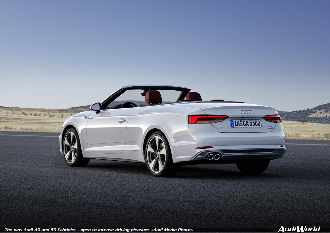 Audi A5 Cabriolet Audiworld