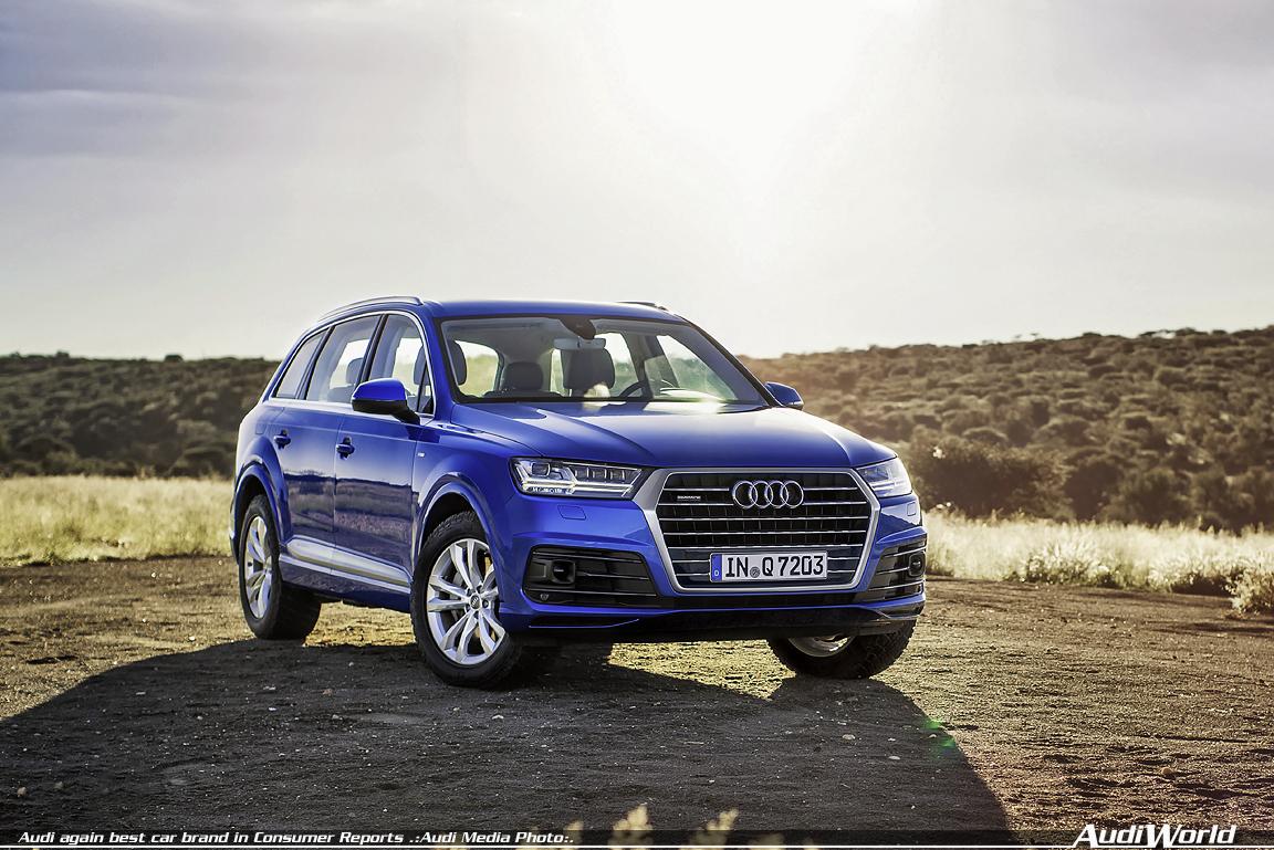 Audi Again Best Car Brand In Consumer Reports Audiworld