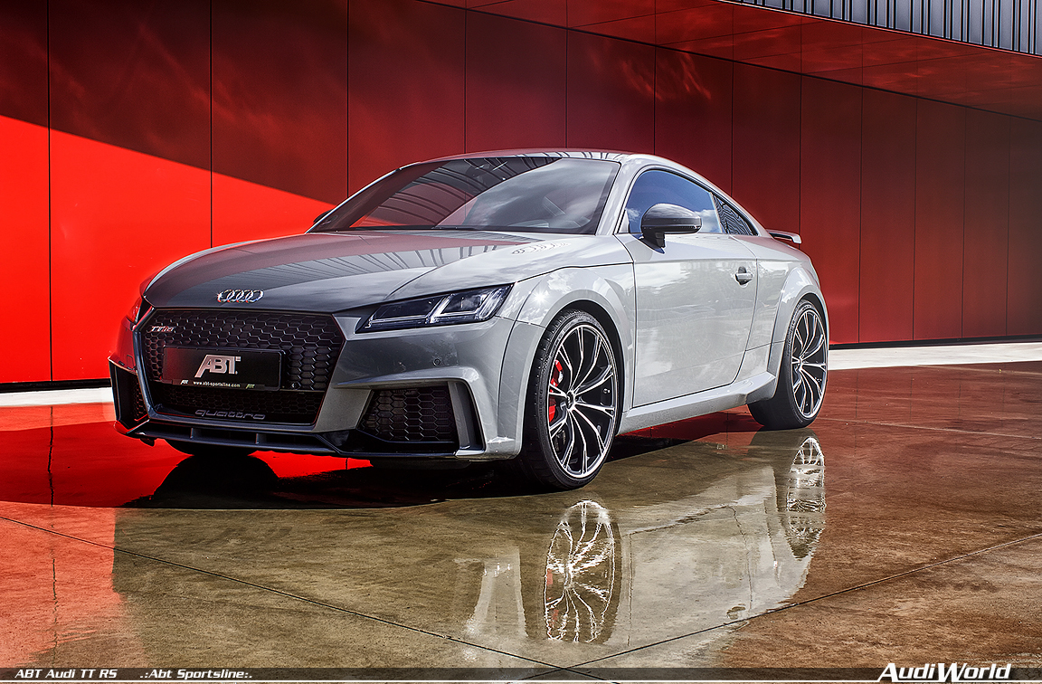 The 2018 ABT Audi TT RS and limited edition ABT Audi TT RS-R - AudiWorld