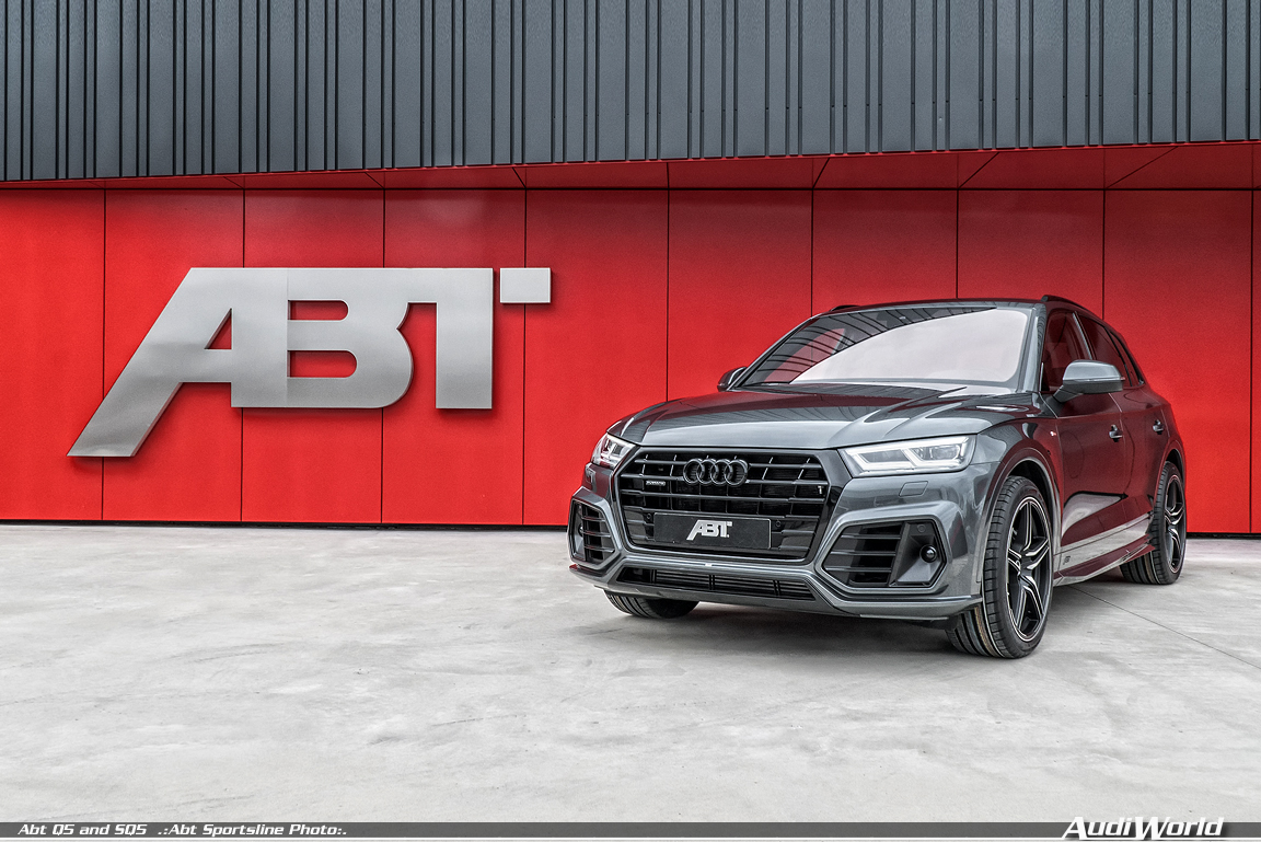 "Slender and muscular – ABT Audi Q5 and SQ5 ""slim body ..."